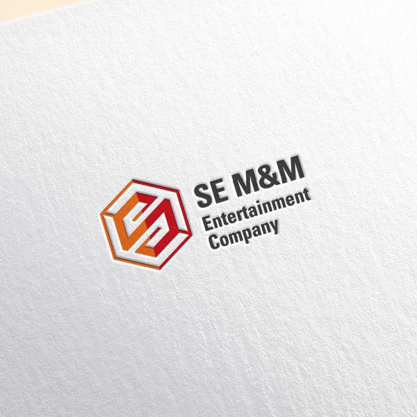로고 + 간판 | SE M&M Enter... | 라우드소싱 포트폴리오