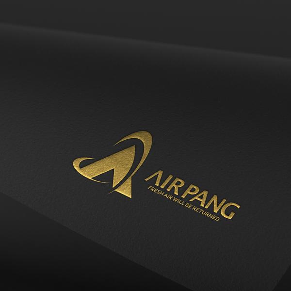 로고 디자인   에어팡   라우드소싱 포트폴리오