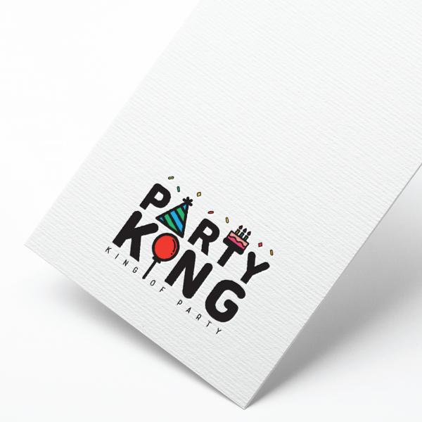 로고 디자인   파티킹   라우드소싱 포트폴리오