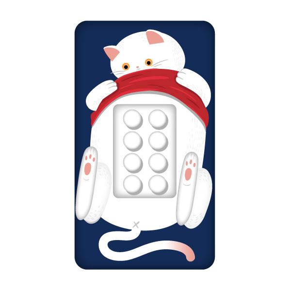 일러스트 | 핸드폰케이스에 들어갈 동... | 라우드소싱 포트폴리오