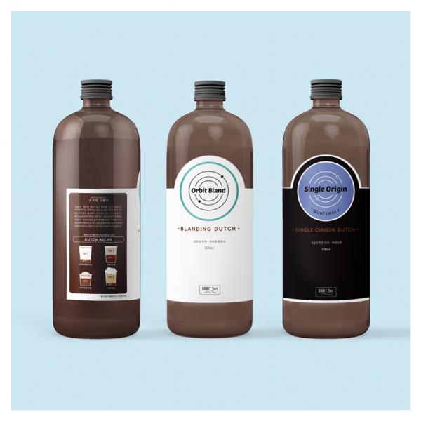 라벨 디자인 | 오르빗5번가 커피관련 라... | 라우드소싱 포트폴리오