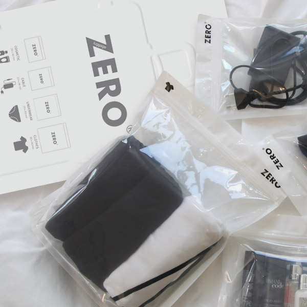 패키지 디자인 | ZERO 트래블 스탠딩백... | 라우드소싱 포트폴리오
