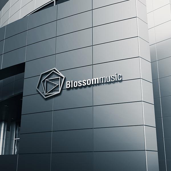 로고 + 명함 | 블라썸뮤직(Blossom... | 라우드소싱 포트폴리오