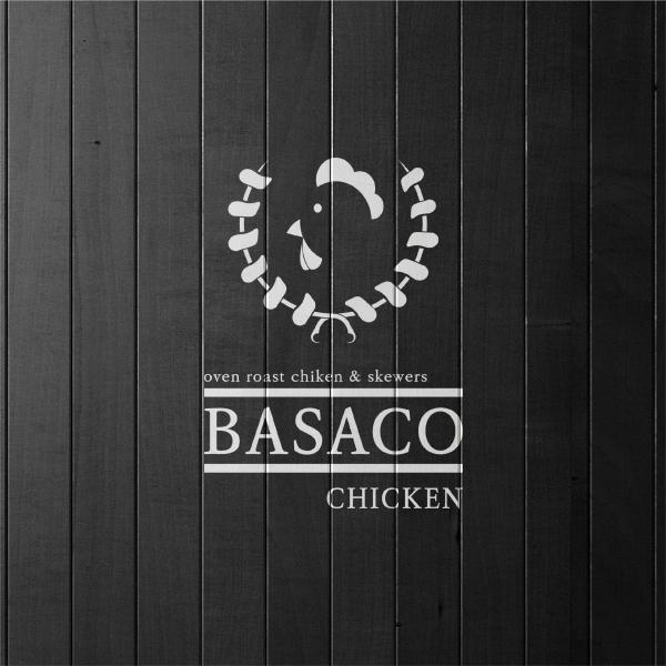 로고 + 간판   Basaco chicken   라우드소싱 포트폴리오