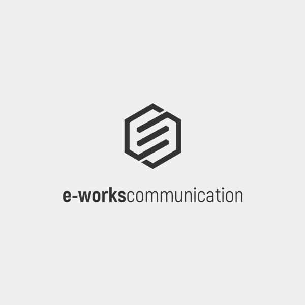 로고 + 명함   주식회사 이웍스커뮤니케이션   라우드소싱 포트폴리오
