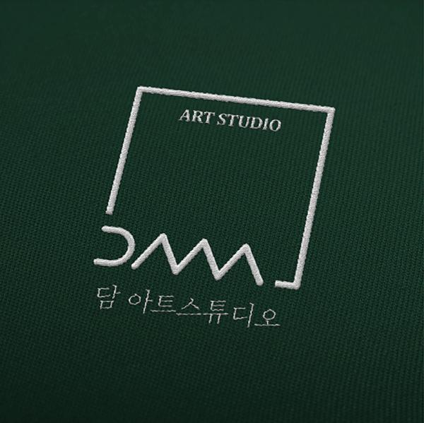 로고 + 명함   담 아트스튜디오   라우드소싱 포트폴리오