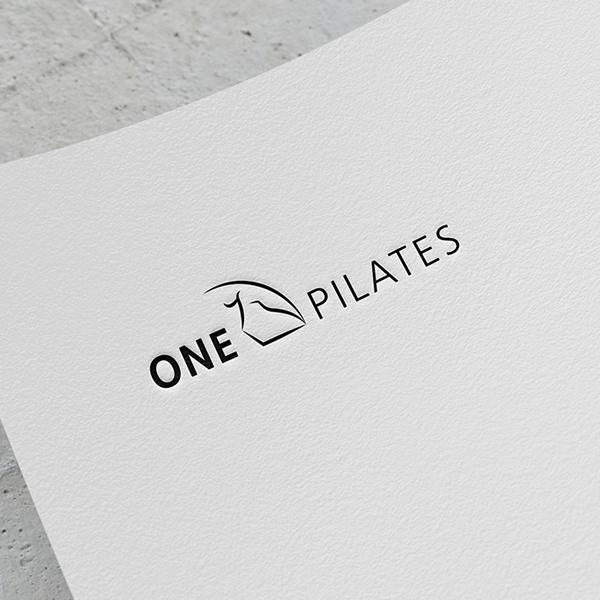 로고 디자인 | ONE PILATES | 라우드소싱 포트폴리오