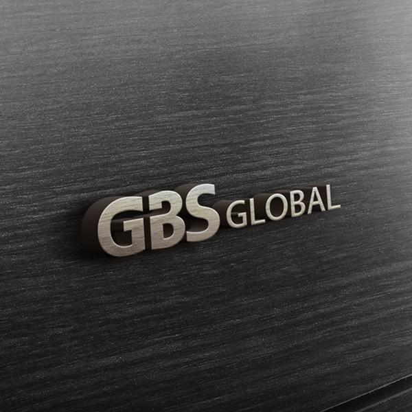 로고 + 명함   GBS GLOBAL   라우드소싱 포트폴리오