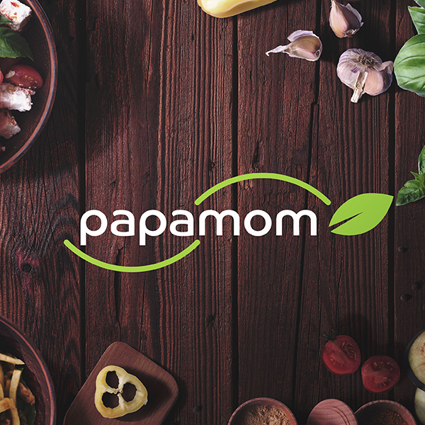 로고 디자인 | 파파맘(papamom) ... | 라우드소싱 포트폴리오