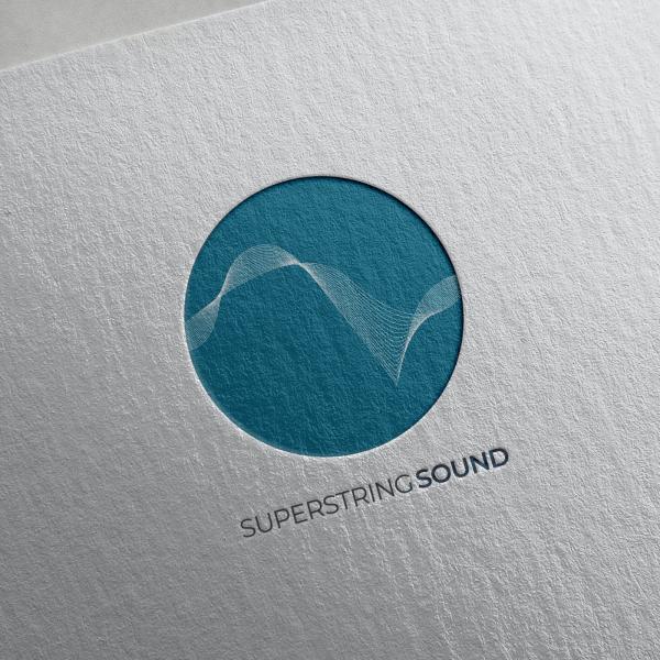 로고 디자인 | (주)슈퍼스트링사운드  | 라우드소싱 포트폴리오