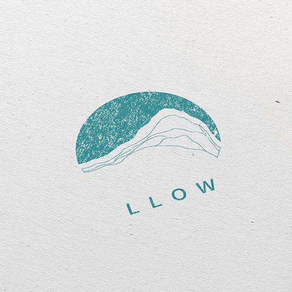 로고 디자인 | 카페 LLOW 로고디자인 의뢰 | 라우드소싱 포트폴리오