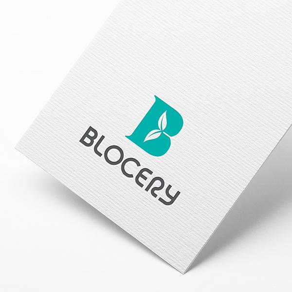 로고 디자인 | Blocery | 라우드소싱 포트폴리오
