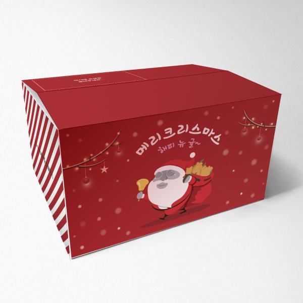 패키지 디자인 | 크리스마스 선물박스 디자인 | 라우드소싱 포트폴리오