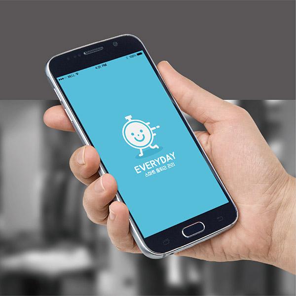 로고 디자인 |  EVERYDAY 앱 아... | 라우드소싱 포트폴리오