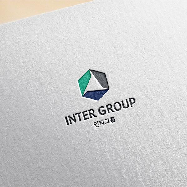 로고 디자인 | 인터그룹 CI/BI 디자인  | 라우드소싱 포트폴리오