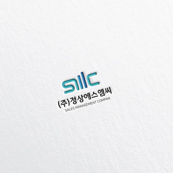 로고 + 명함 |  (주)정상에스엠씨 | 라우드소싱 포트폴리오