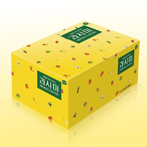 패키지 디자인 | 옐로우기프트 카카오 박스 | 라우드소싱 포트폴리오
