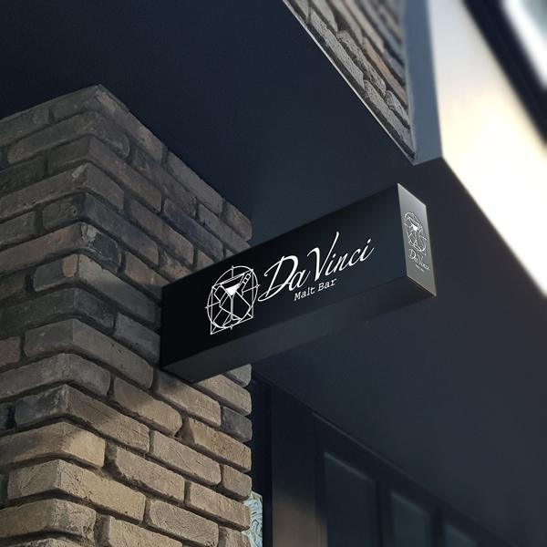 로고 + 간판 | Da Vinci | 라우드소싱 포트폴리오