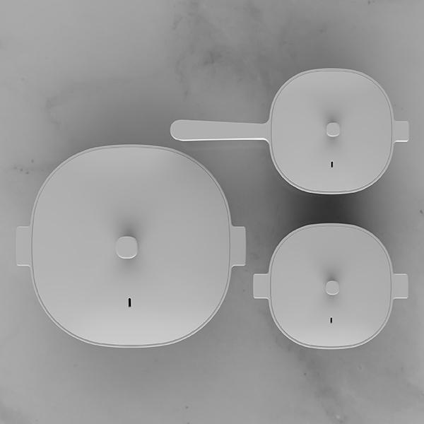 제품 디자인 | 화이트 세라믹쿡웨어 디자... | 라우드소싱 포트폴리오