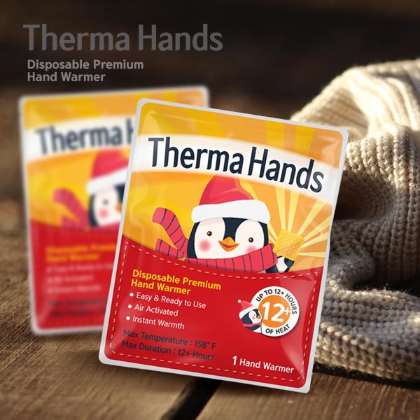 패키지 디자인 | ThermaHands | 라우드소싱 포트폴리오