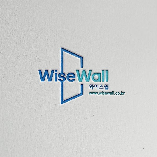 로고 디자인 | 와이즈월 CI 의뢰 | 라우드소싱 포트폴리오