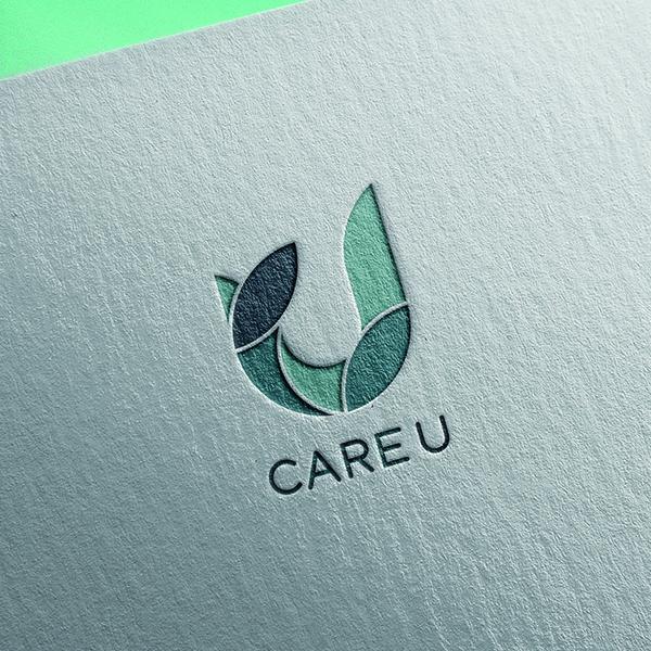로고 디자인   Care U    라우드소싱 포트폴리오