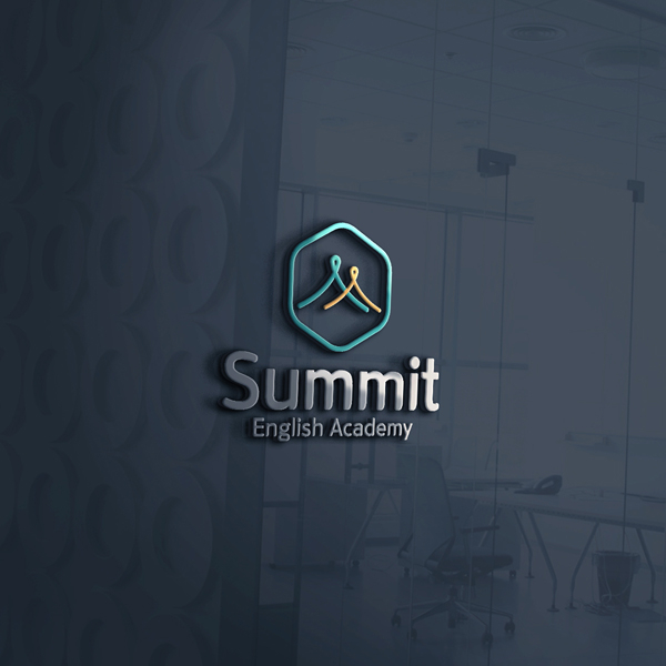 로고 + 간판 | Summit 영어 학원 ... | 라우드소싱 포트폴리오