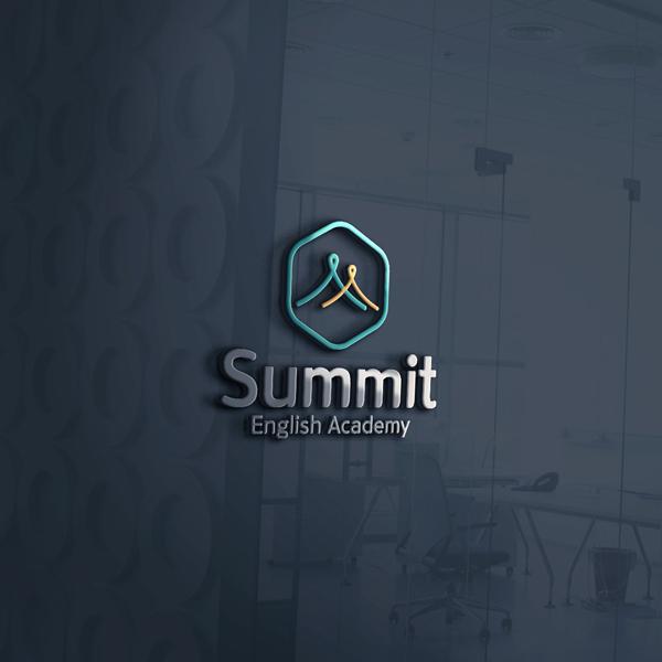 로고 + 간판 | Summit English A... | 라우드소싱 포트폴리오