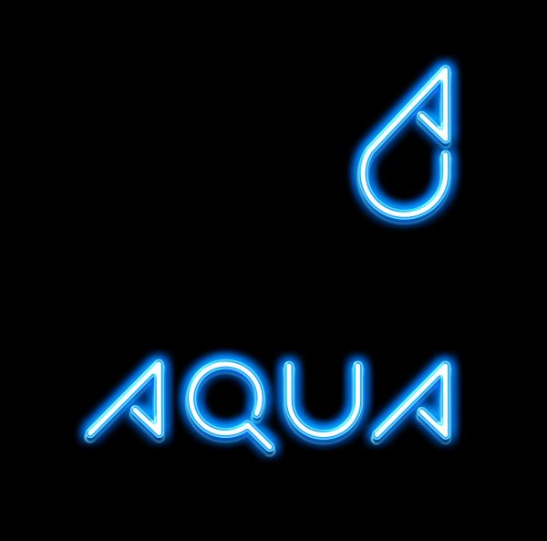 로고 + 명함   아쿠아   라우드소싱 포트폴리오