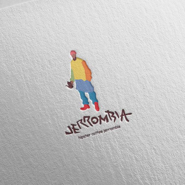 로고 + 명함 | 힙스터 커피 브랜드 제롬... | 라우드소싱 포트폴리오