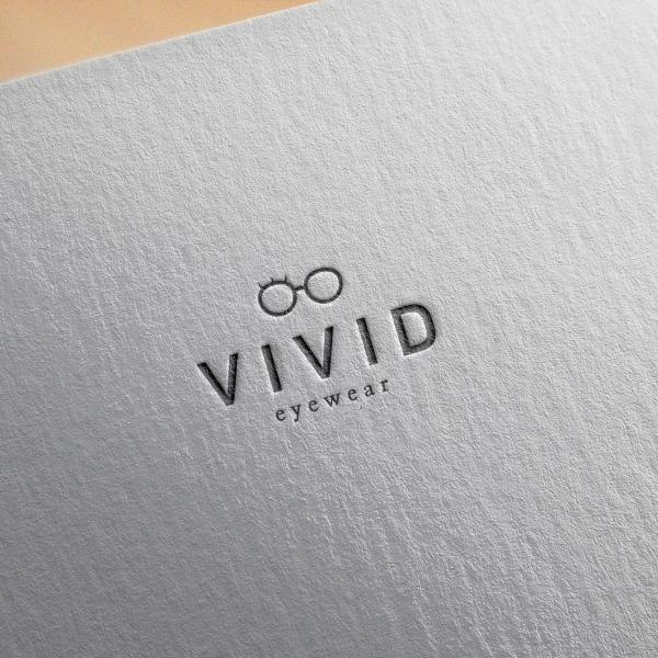 로고 디자인 | 비비드안경 로고 의뢰 | 라우드소싱 포트폴리오