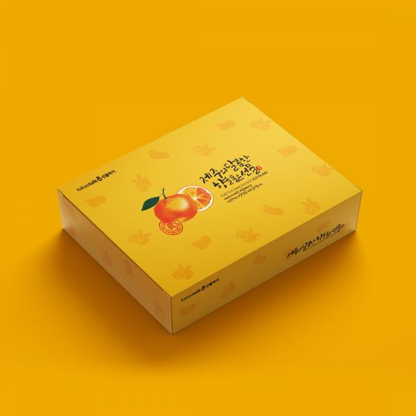 패키지 디자인 | 제주도 과일선물세트 패키... | 라우드소싱 포트폴리오
