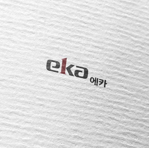 로고 + 명함 | 에카  Eka(eka)   | 라우드소싱 포트폴리오