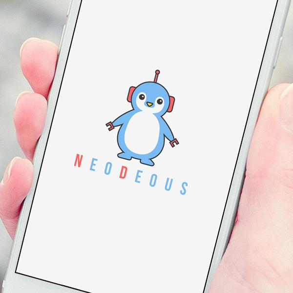 로고 + 명함 | 네오데우스 주식회사 | 라우드소싱 포트폴리오