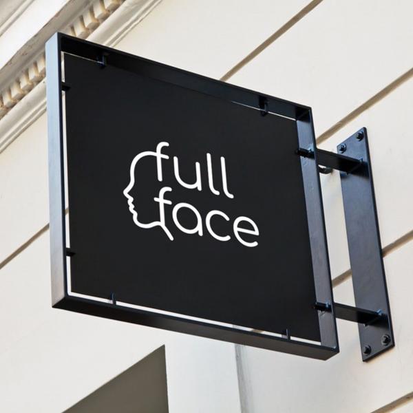 로고 디자인 | FULL FACE 로고 ... | 라우드소싱 포트폴리오