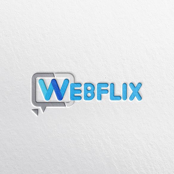 로고 + 명함   WEBFLIX   라우드소싱 포트폴리오