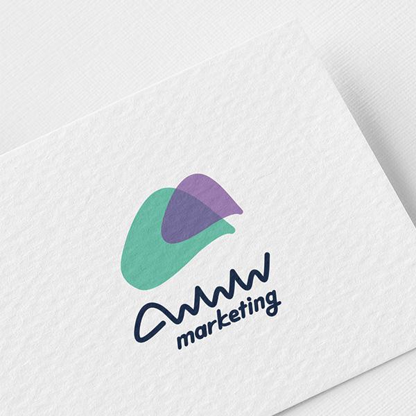 로고 + 명함 | 와우마케팅 로고 디자인 의뢰 | 라우드소싱 포트폴리오