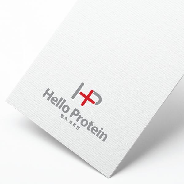 로고 디자인 |  헬로 프로틴 로고 디자... | 라우드소싱 포트폴리오