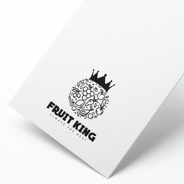로고 디자인 | 과일왕 | 라우드소싱 포트폴리오