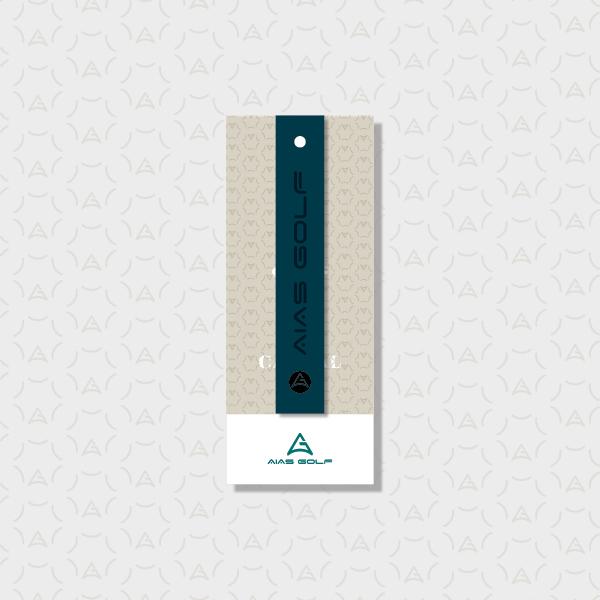 라벨 디자인 | 골프의류 택 디자인 개발 | 라우드소싱 포트폴리오