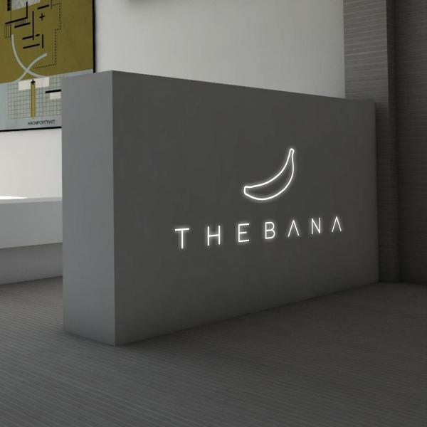 로고 디자인 | THEBANA | 라우드소싱 포트폴리오