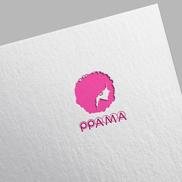 로고 디자인 | PPAMA 미용재료 쇼핑... | 라우드소싱 포트폴리오