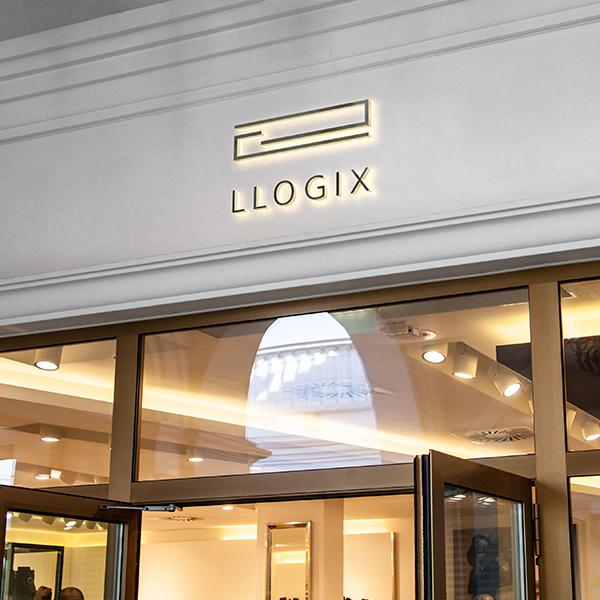 로고 디자인 | LLOGIX (엘로직스)... | 라우드소싱 포트폴리오