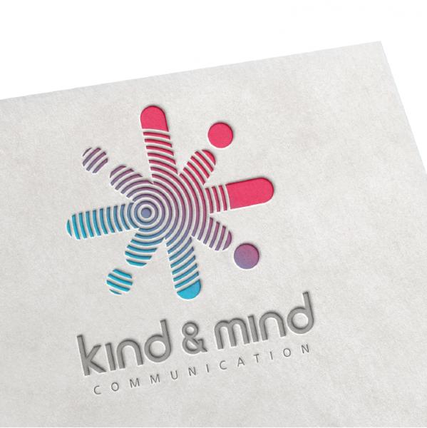 로고 + 명함 | 카인드 앤 마인드(KIND &... | 라우드소싱 포트폴리오