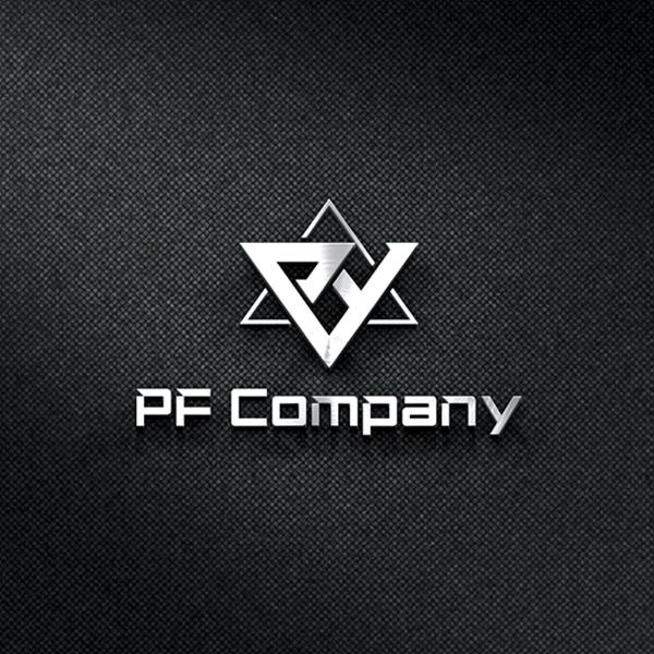 로고 디자인   피에프컴퍼니, PF Company   라우드소싱 포트폴리오