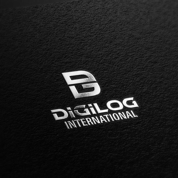 로고 디자인 | (주)디지로그인터내셔날, (주... | 라우드소싱 포트폴리오