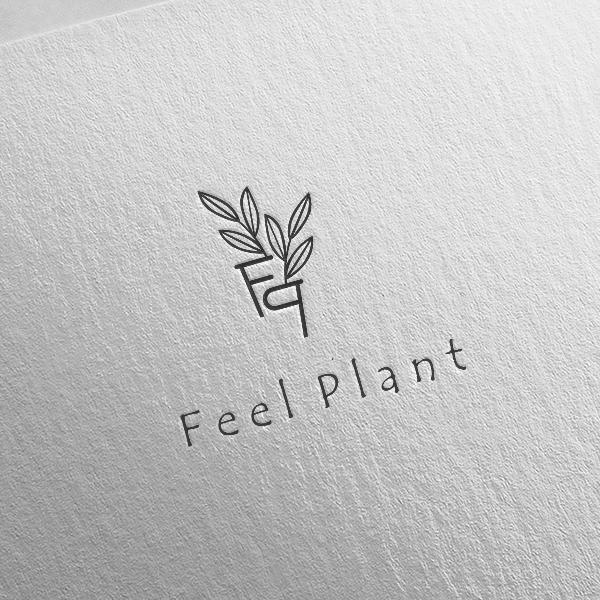 로고 디자인   FEEL PLANT   라우드소싱 포트폴리오