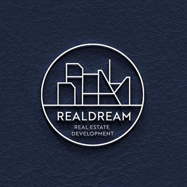 로고 + 명함   REALDREAM (리얼드림)   라우드소싱 포트폴리오