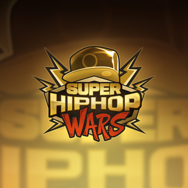 로고 디자인 | 슈퍼힙합대전 게임BI 로... | 라우드소싱 포트폴리오