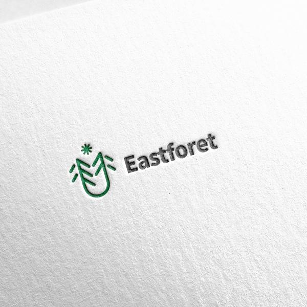 로고 + 명함   이스트포레 Eastforet   라우드소싱 포트폴리오